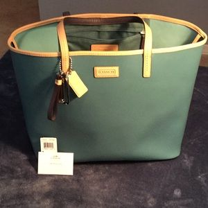 Coach Park Metro leather tote F24341
